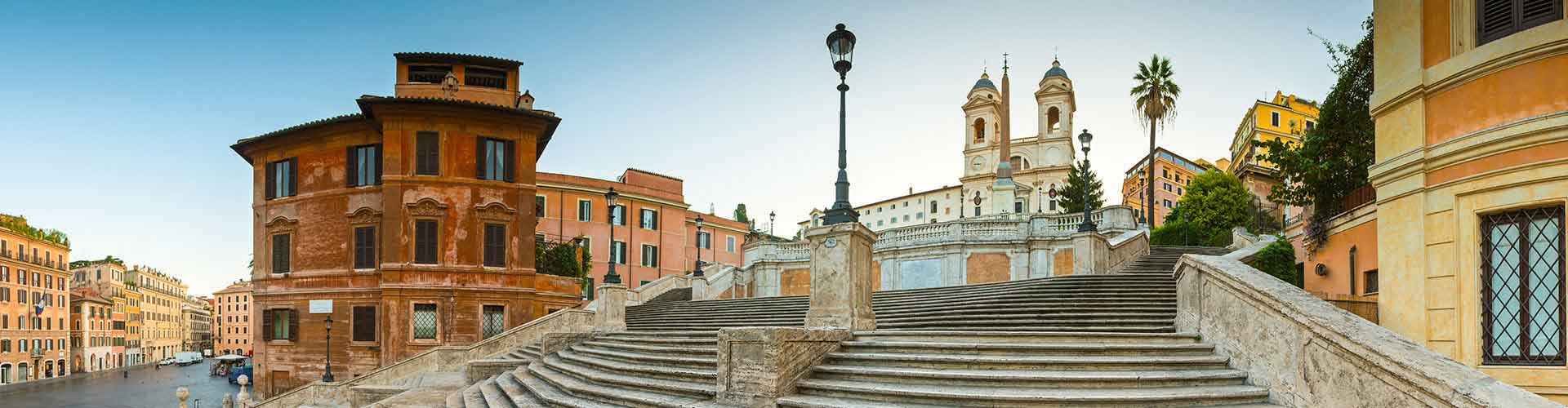 Rome – Camping close to Spanish Steps. Maps of Rome, Photos and Reviews for each camping in Rome.
