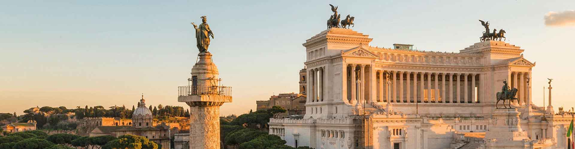 Rome – Camping close to Trajan's Column. Maps of Rome, Photos and Reviews for each camping in Rome.