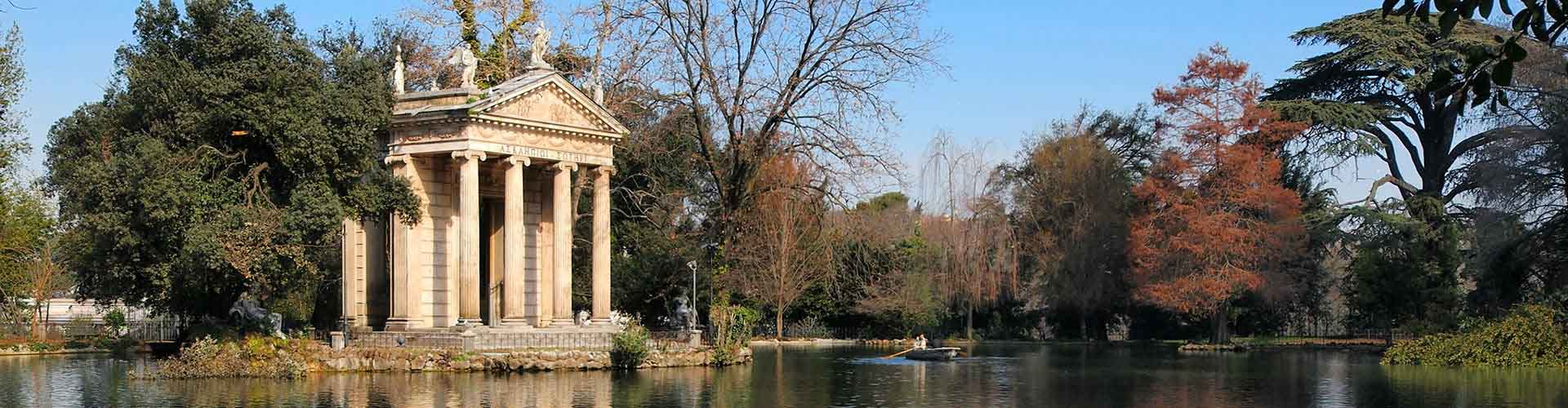 Rome – Camping close to Villa Borghese. Maps of Rome, Photos and Reviews for each camping in Rome.