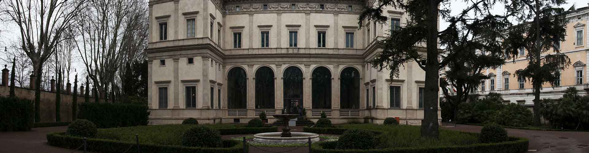 Rome – Camping close to Villa Farnesina. Maps of Rome, Photos and Reviews for each camping in Rome.