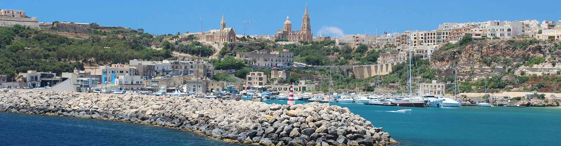 Gozo – Hostels in Gozo. Maps for Gozo, Photos and Reviews for each hostel in Gozo.