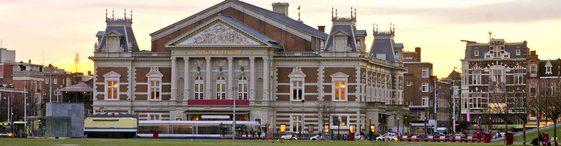 Amsterdam – Hostels close to Concertgebouw. Maps for Amsterdam, Photos and Reviews for each hostel in Amsterdam.