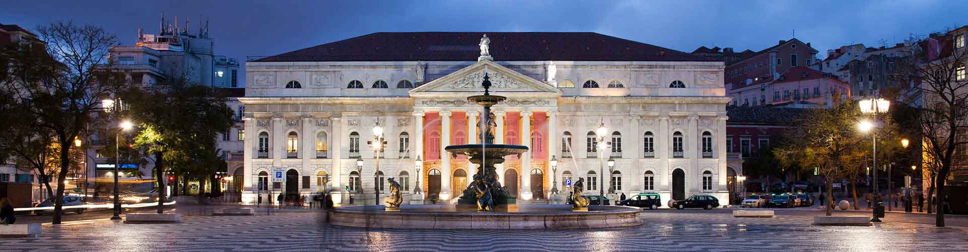 Lisbon – Hostels close to RossiowithTeatro Nacional D. Maria II. Maps for Lisbon, Photos and Reviews for each hostel in Lisbon.