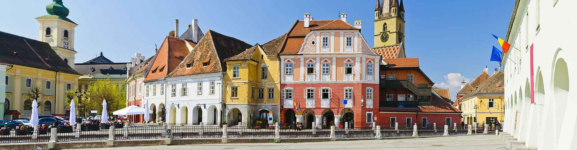 Sibiu – Hostels in Sibiu. Maps for Sibiu, Photos and Reviews for each hostel in Sibiu.