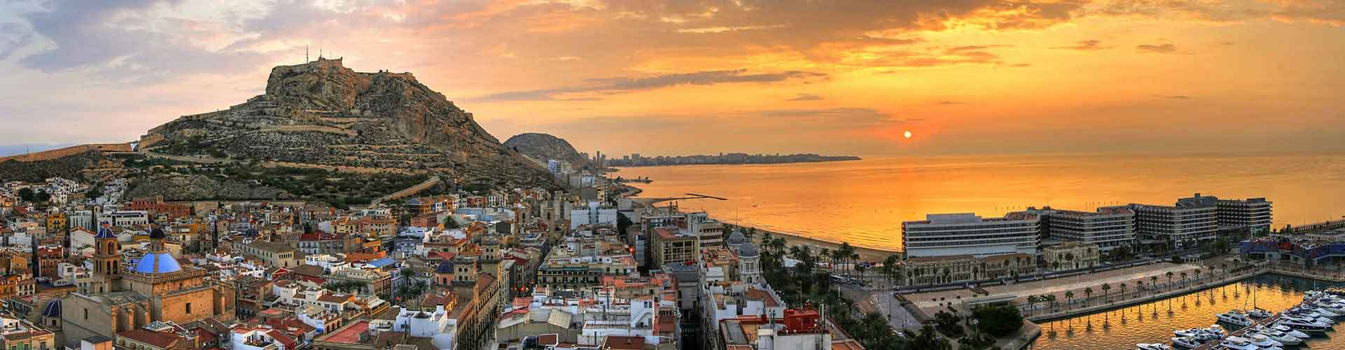 Alicante – Hostels in the Cabo de las Huertas district. Maps for Alicante, Photos and Reviews for each hostel in Alicante.
