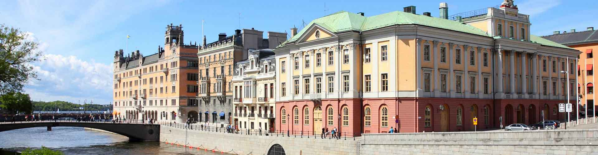 Stockholm – Hostels in the Norrmalm district. Maps for Stockholm, Photos and Reviews for each hostel in Stockholm.