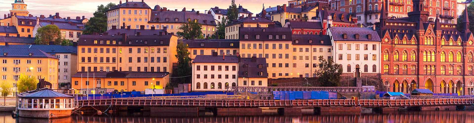 Stockholm – Hostels in the Södermalm district. Maps for Stockholm, Photos and Reviews for each hostel in Stockholm.