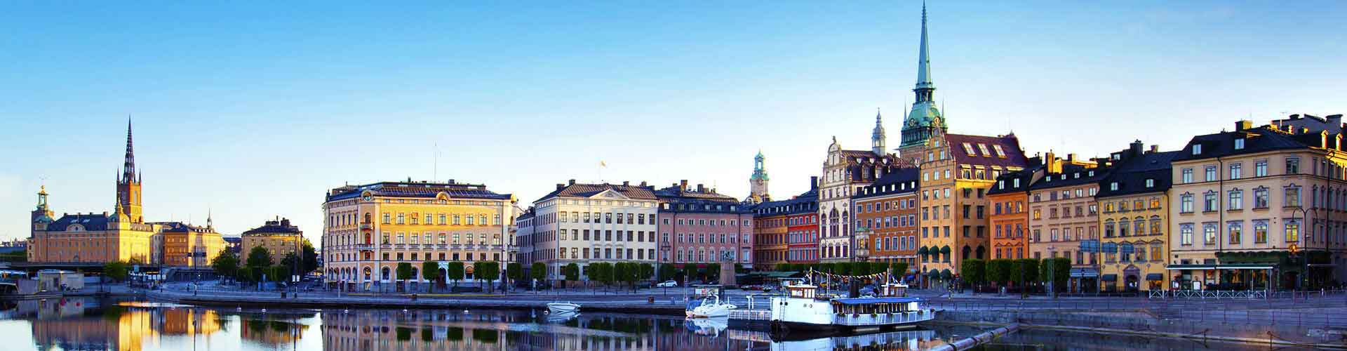 Stockholm – Student accommodations, hostels and coworking spaces in Stockholm (Sweden). Maps of Stockholm, photos and reviews for each place in Stockholm.