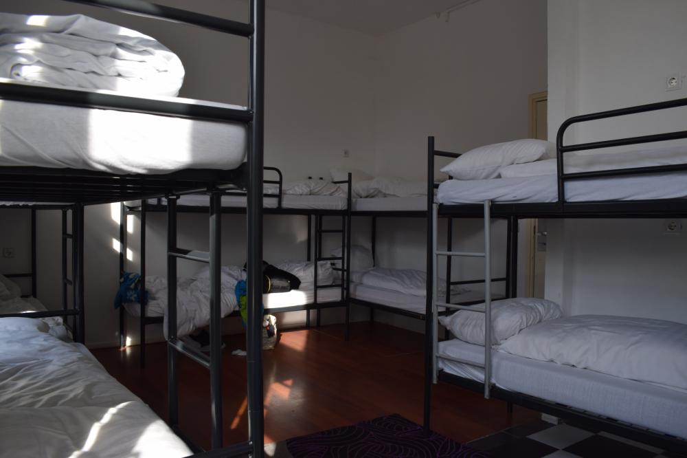 12 bed shared dorm