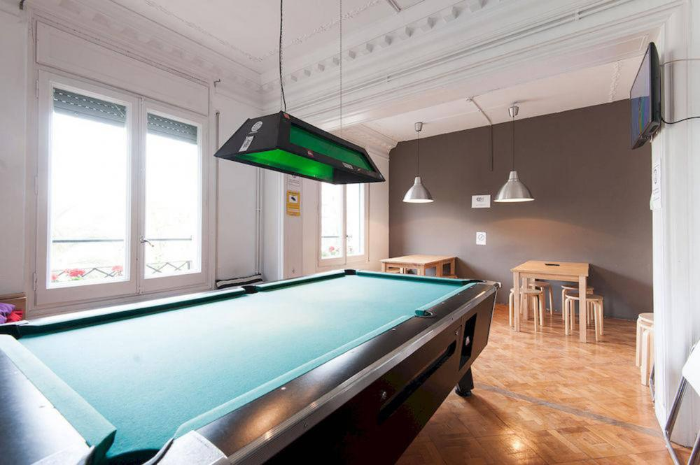 in our common zone you can play pool!