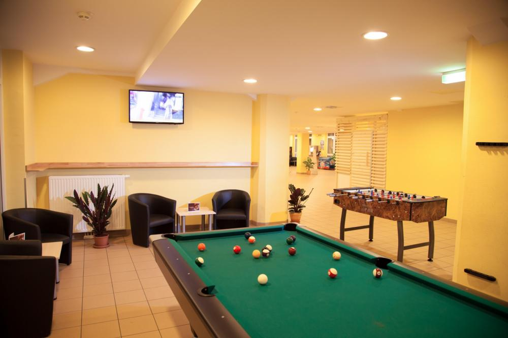 A&O Wien HB Hostel Pool table