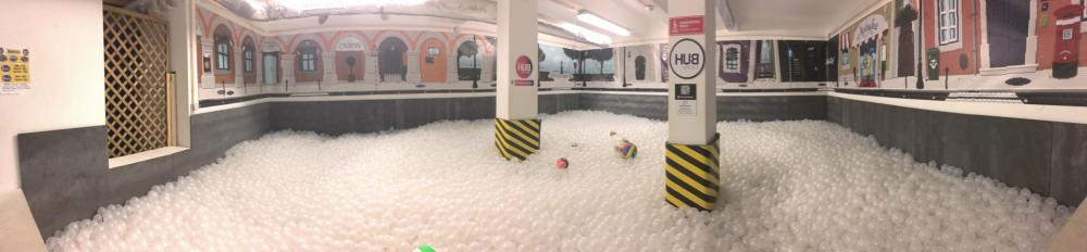 No, you are not dreaming! We do have a ball pool!