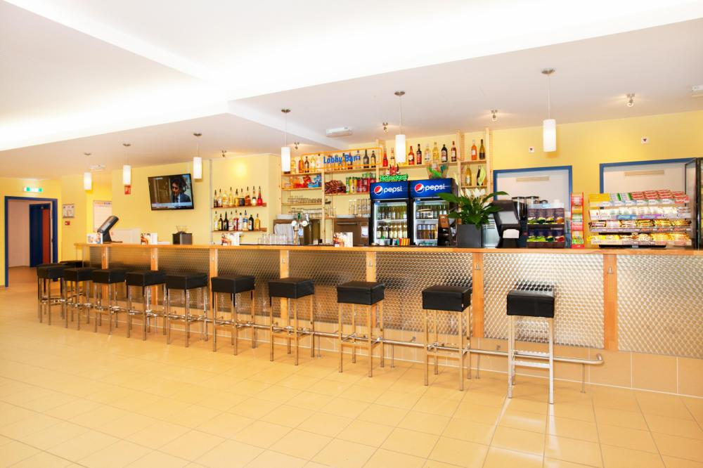 Come and get some drinks at our very own bar