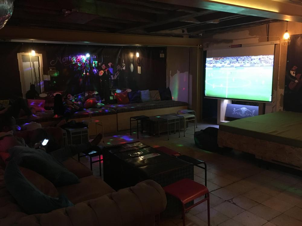 Watch the matches and amazing movies in our lounge area!