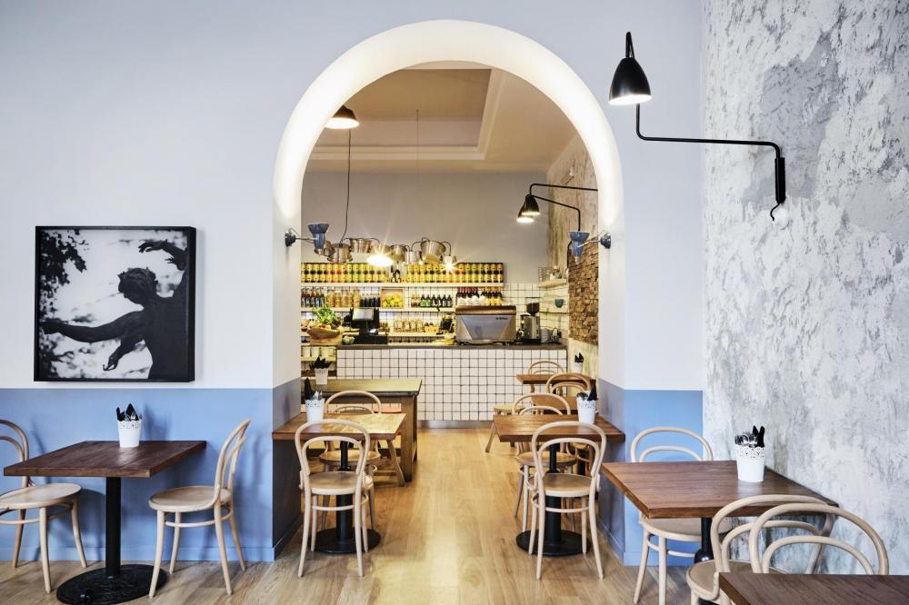 Detail of our beautiful cafetteria.