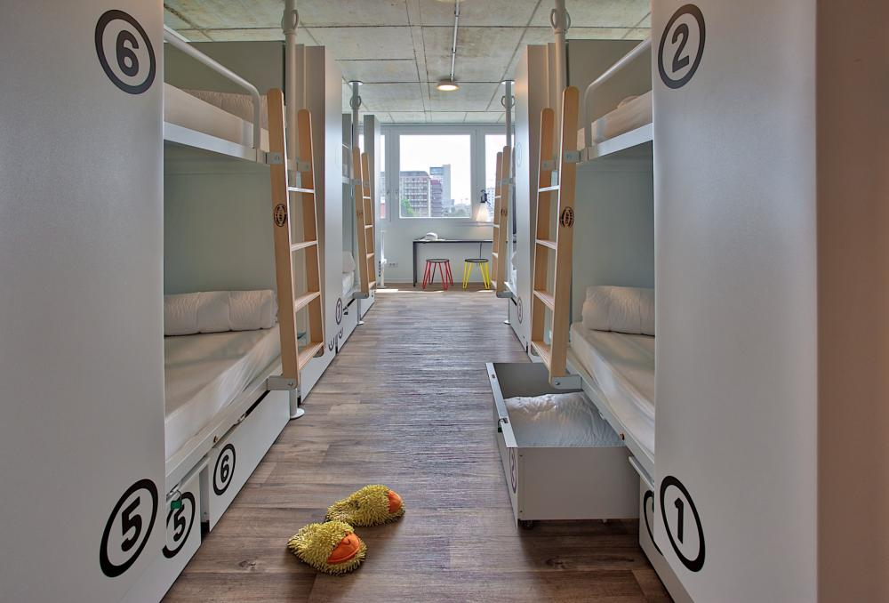 One of our 7-ensuite -bed (mixed/female) dormitories