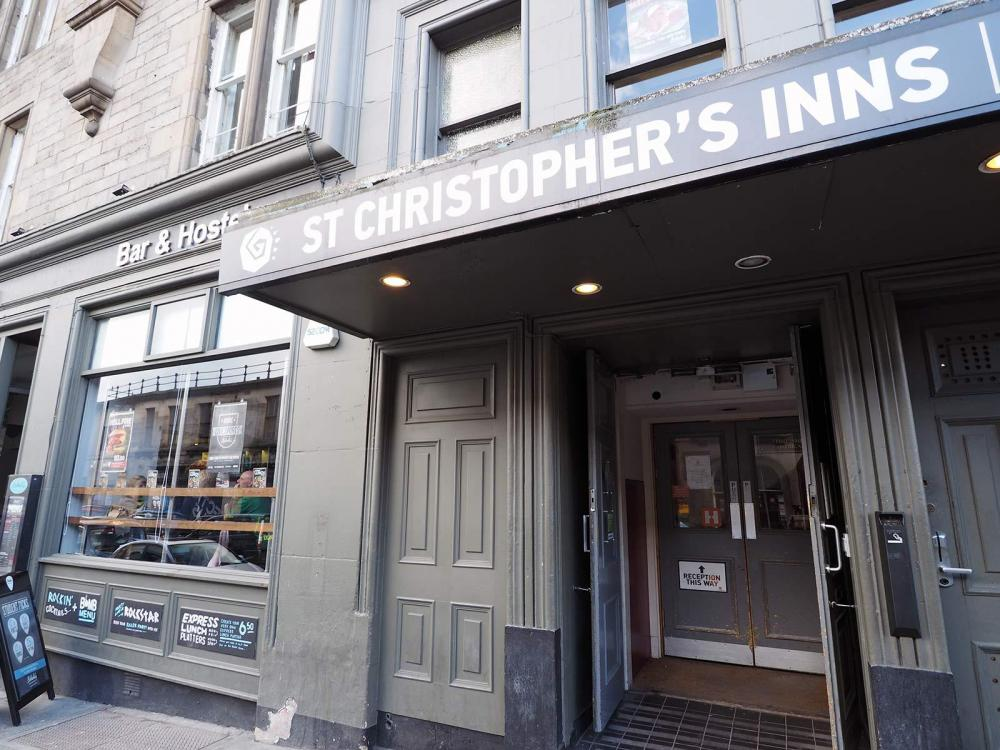St Christopher's Inn, Edinburgh