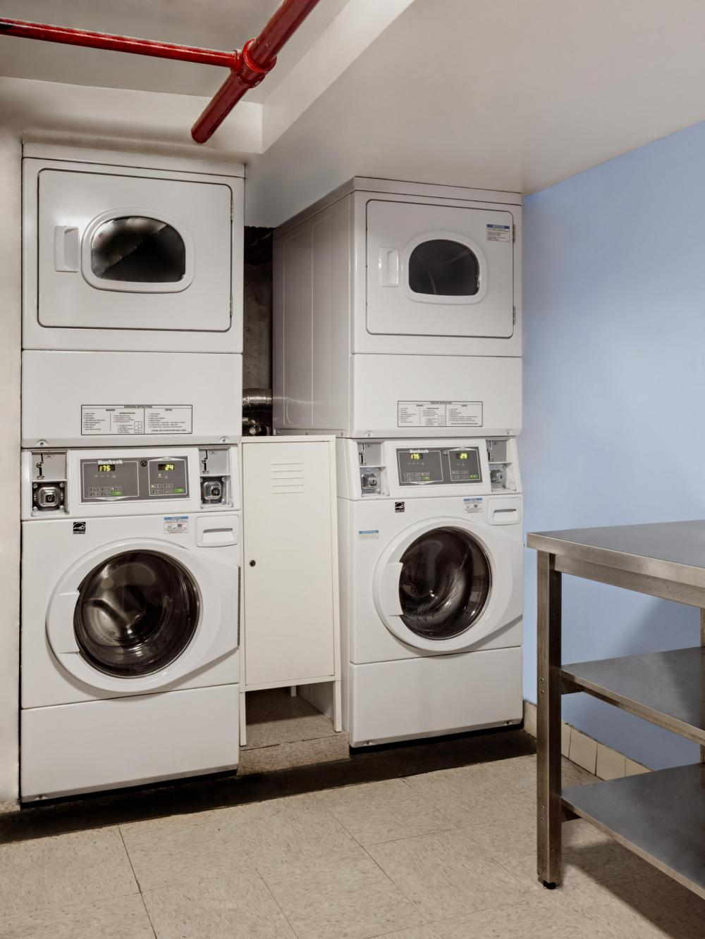 Washer and Dryer are $1 per Load