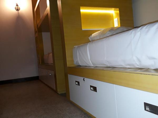 Locker in each bed with security key