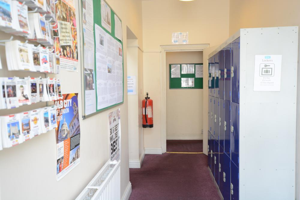 Lockers for rent £1 per day