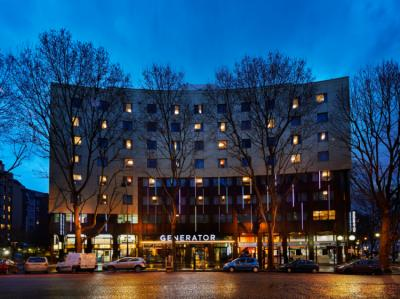 廉价旅馆 - Generator Paris Hostel