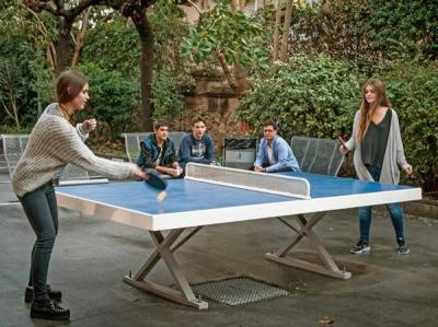 Do you want to play ping pong?