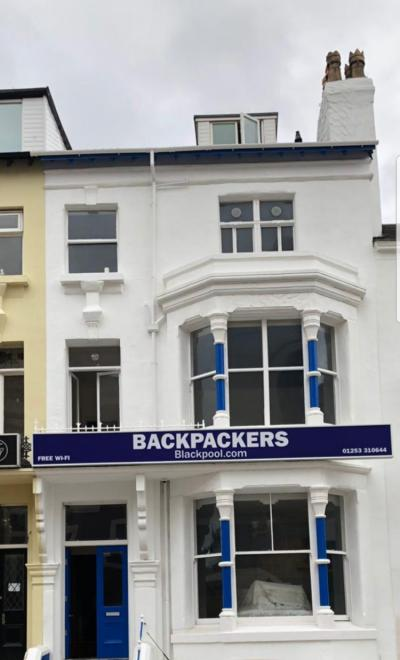 ホステル - Hostel Backpackers Blackpool
