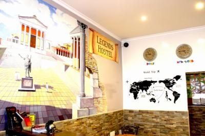Youth Hostels - Legends Hostel Rome