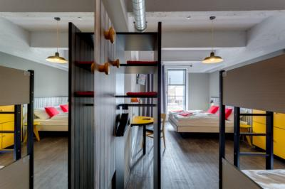 호스텔 - MEININGER Hostel Brussel City Center