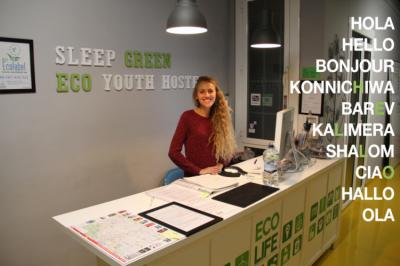 호스텔 - Sleep Green - Certified Eco Youth Hostel