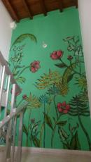 wall paint made by Chilean friend !
